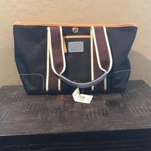 Coach Hampton mini weekend tote